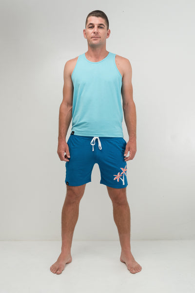 Sea Breeze Sleeveless Shirt - Men