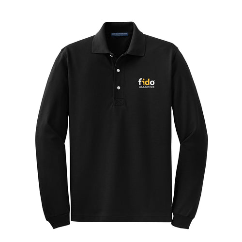 Men's Rapid Dry™ Long Sleeve Polo
