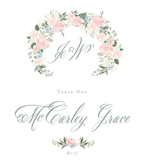 McCarley Escort Card