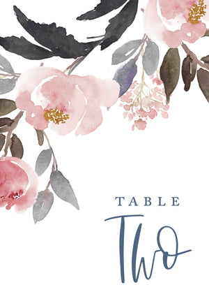 Avery Table Numbers