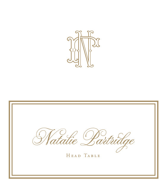 Natalie Escort Card