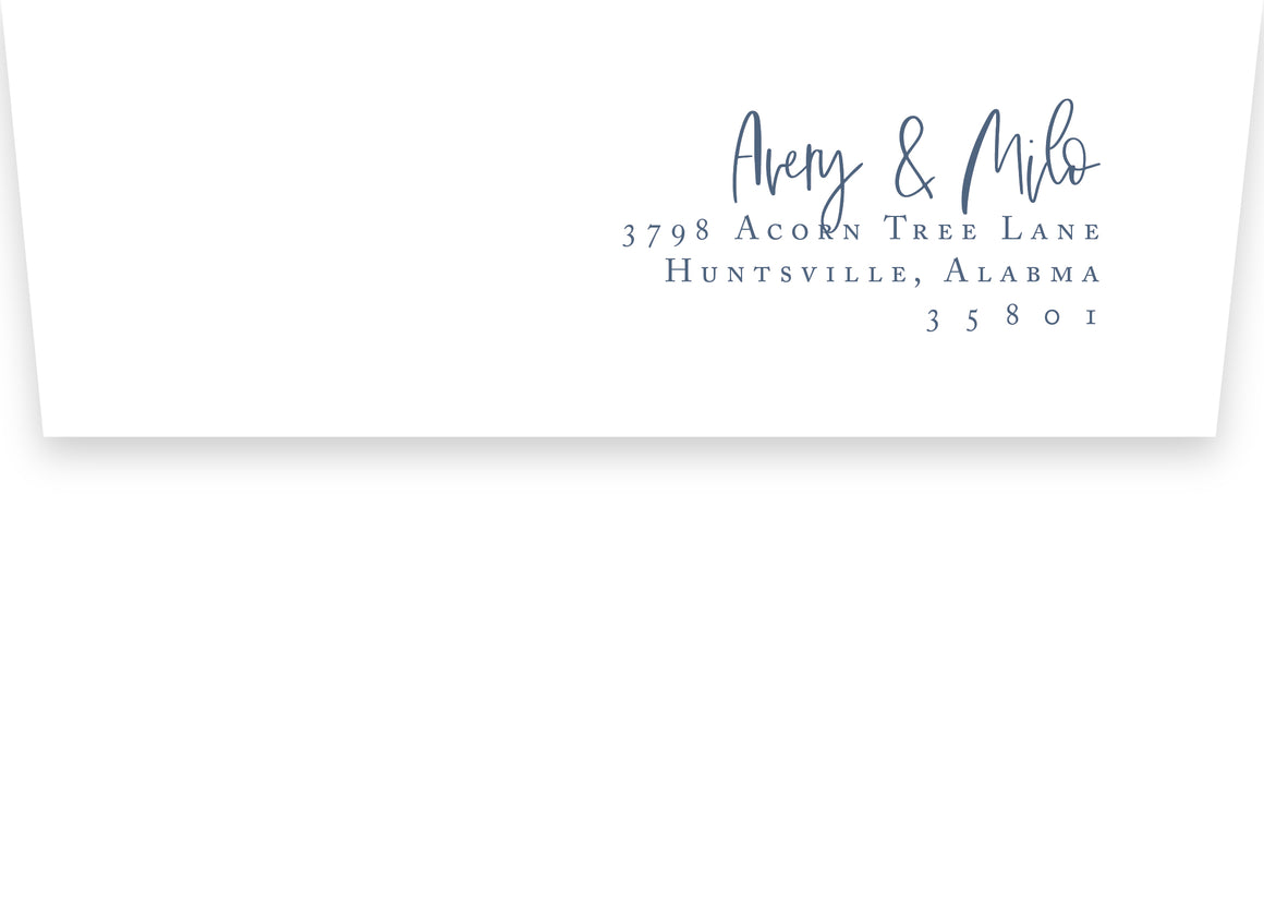 Avery Return Address Printing