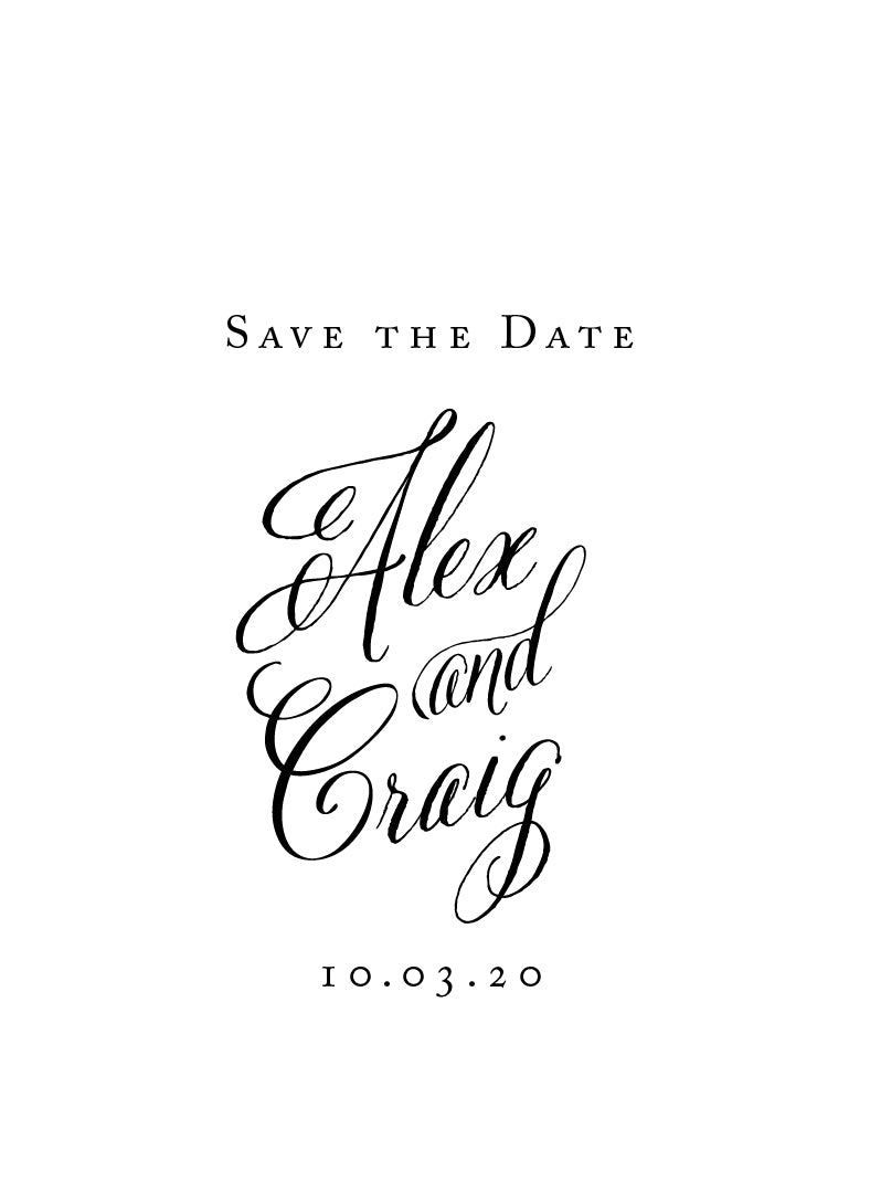 Alex Save the Date