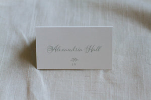 Alexandria Escort Card