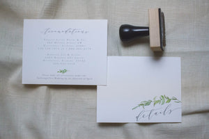 Amanda Enclosure Card