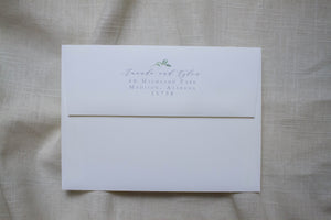 Amanda Return Address Printing