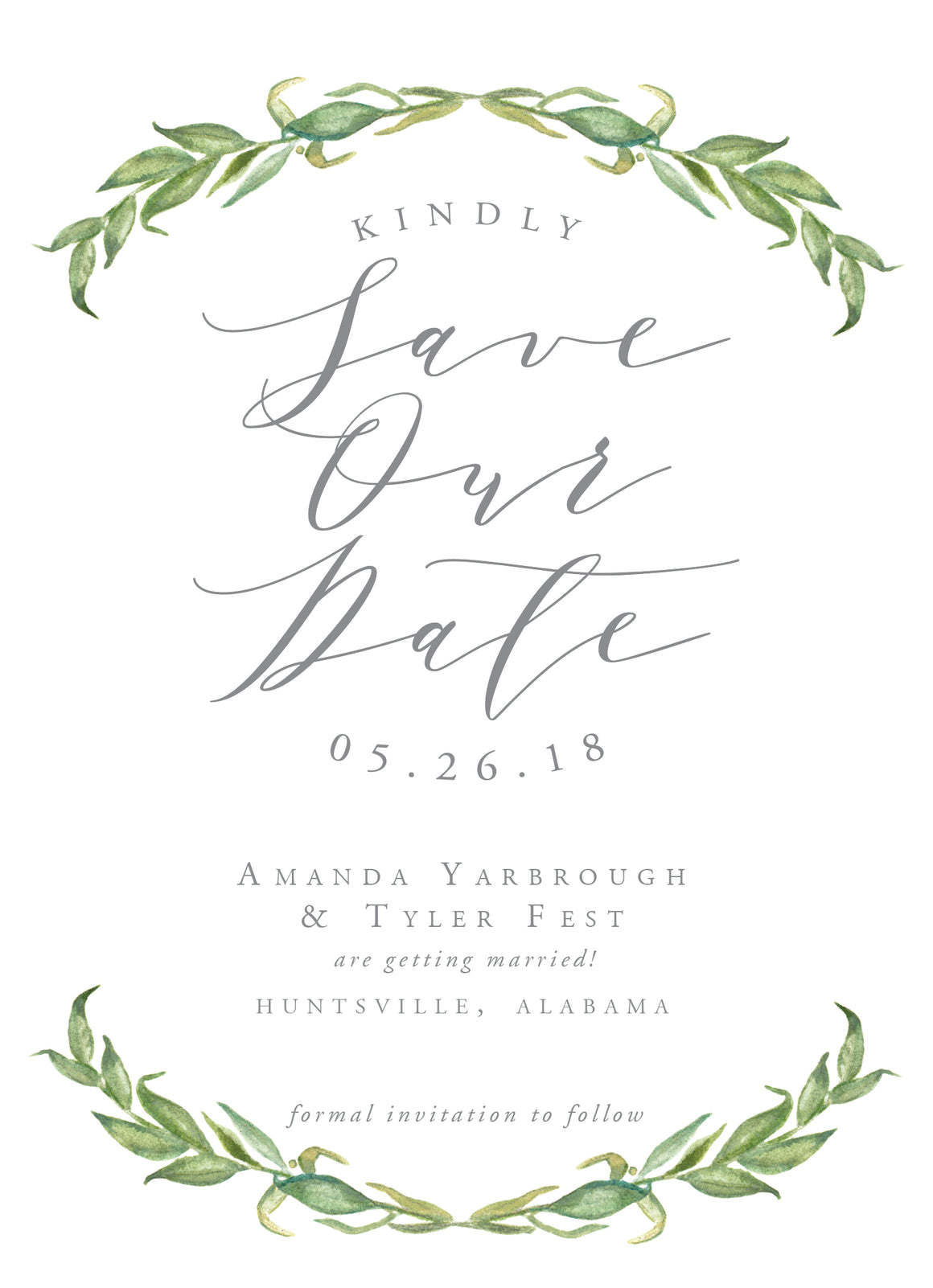 Amanda Save the Date