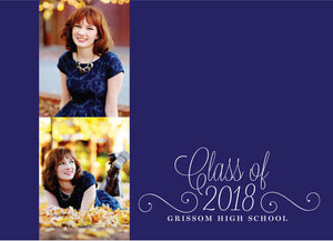 Anna Graduation Announcement