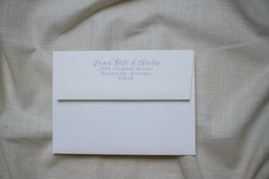 Anna Kate Return Address Printing