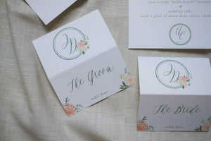 Anna Kate Escort Card