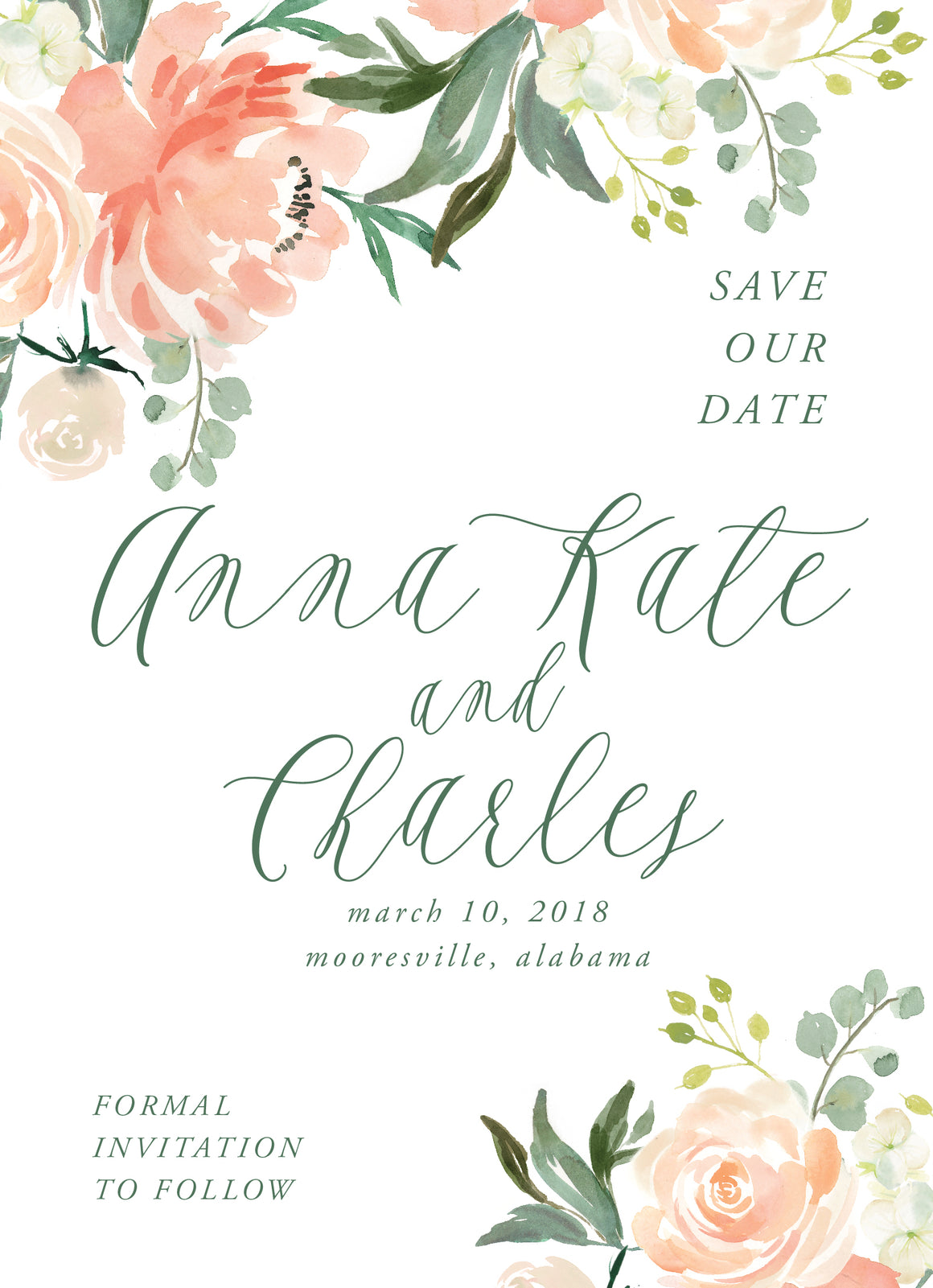 Anna Kate Save the Date