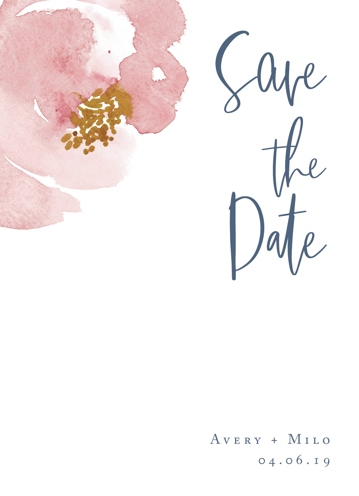 Avery Save the Date