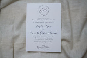 Carly Invitation