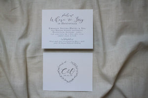 Carly Enclosure Card