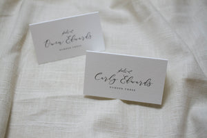 Carly Escort Card