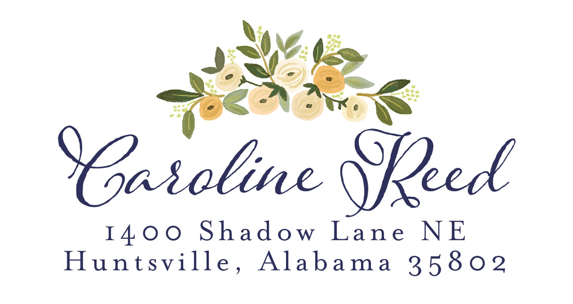 Caroline Return Labels