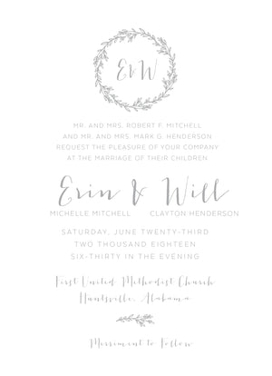 Erin Invitation