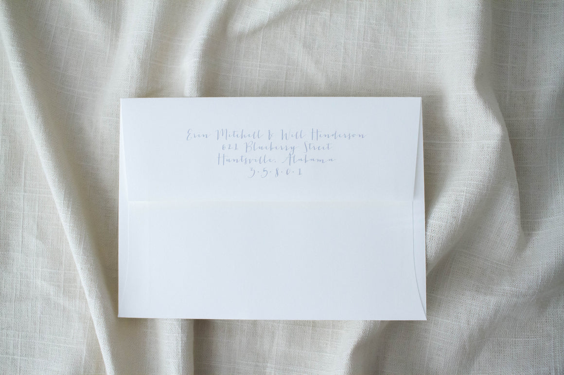 Erin Return Address Printing
