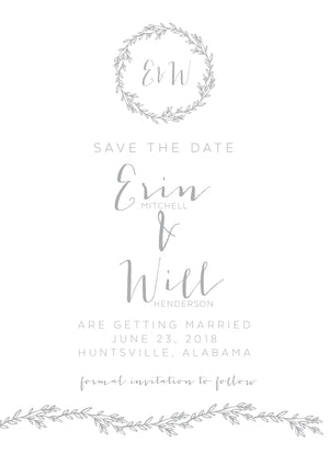 Erin Save the Date