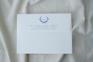 Gemma Return Address Printing