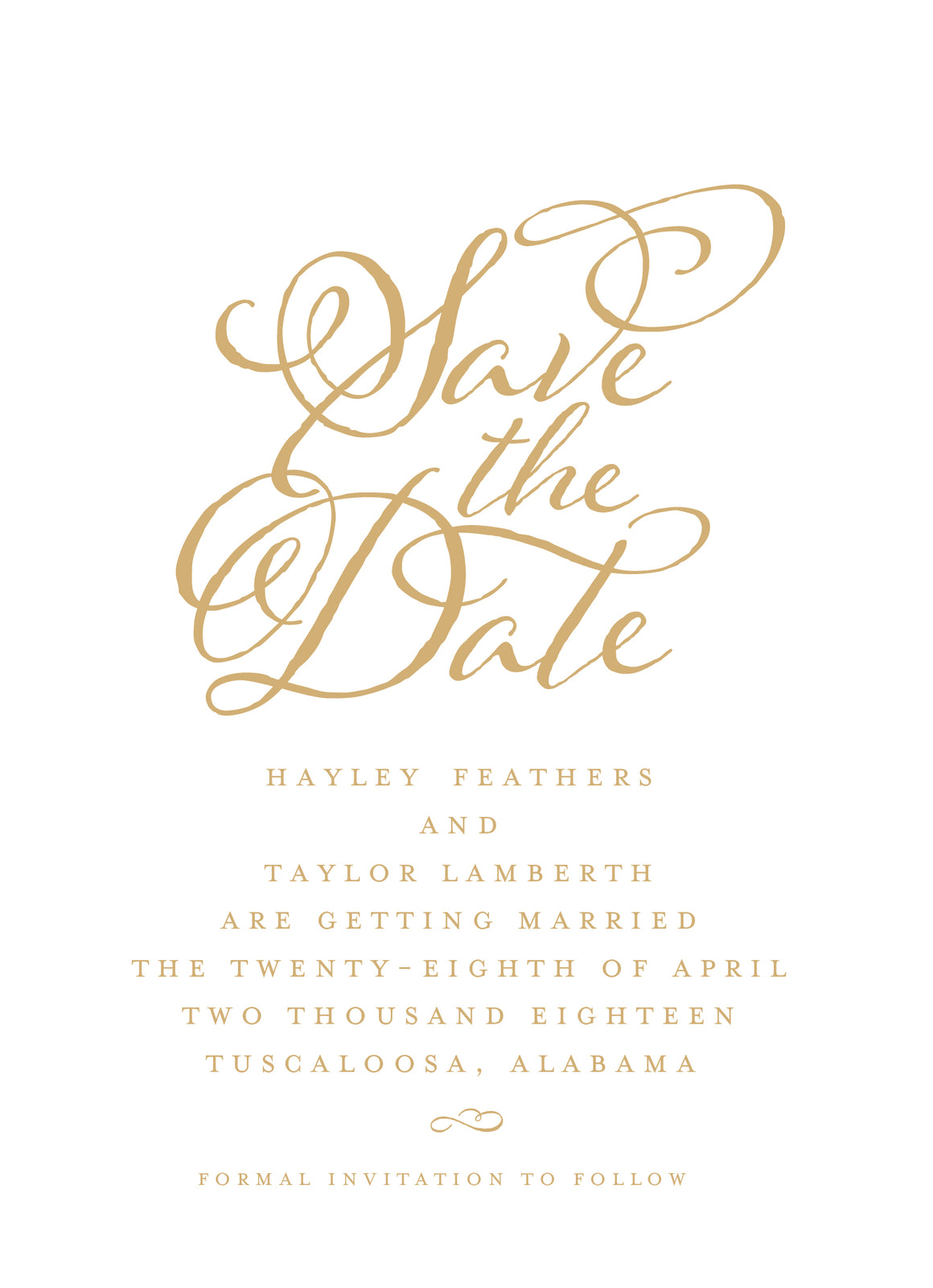 Hayley Save the Date