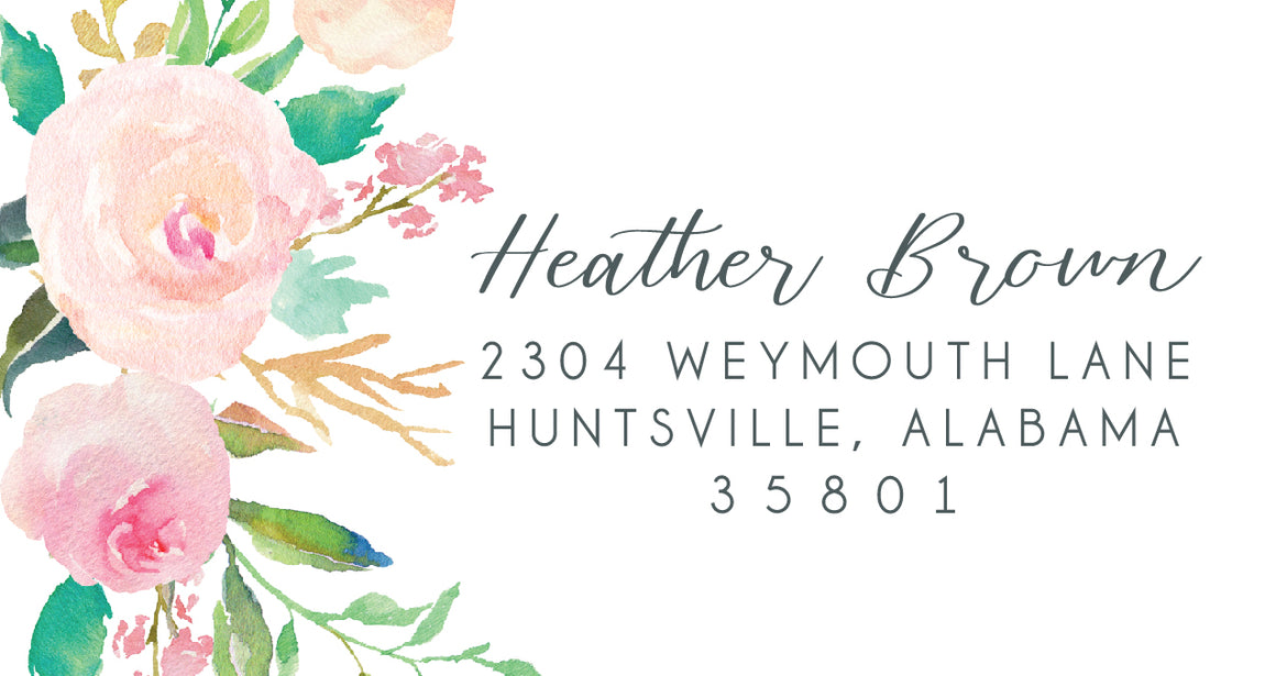 Heather Return Labels