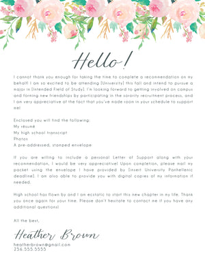 Heather Cover Letter