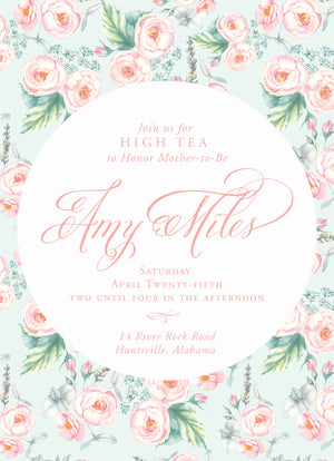 Cup of Tea Shower Invitation