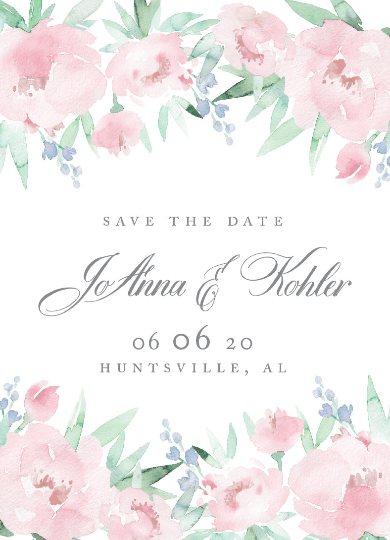JoAnna Save the Date