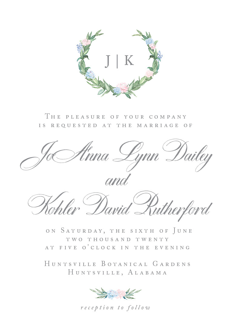 JoAnna Invitation