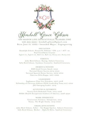 Kendall Resume
