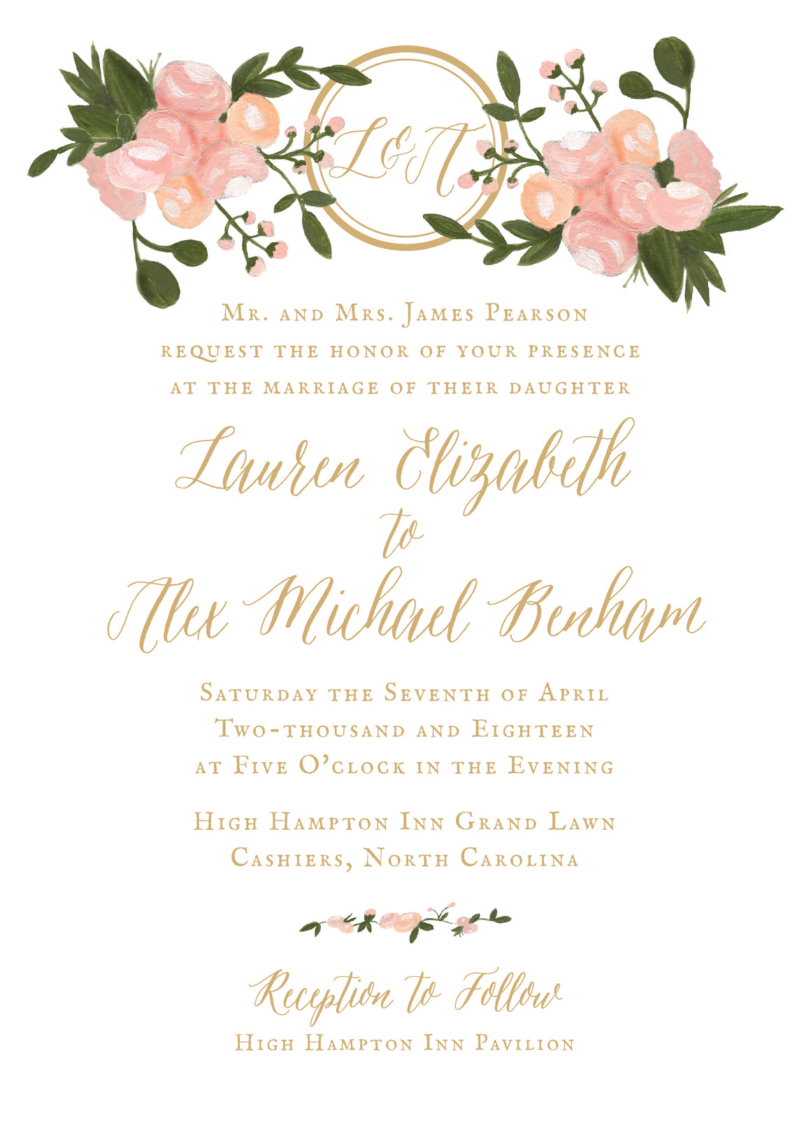 Lauren Invitation