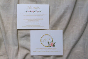 Lauren Enclosure Card