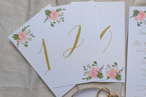 Lauren Table Numbers