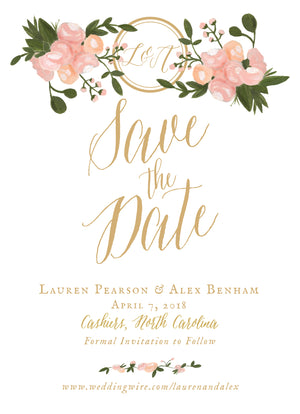 Lauren Save the Date