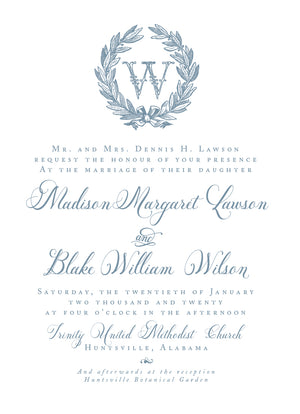 Madison Invitation
