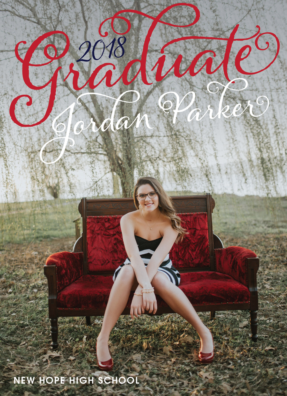 Jordan Graduation Announcement