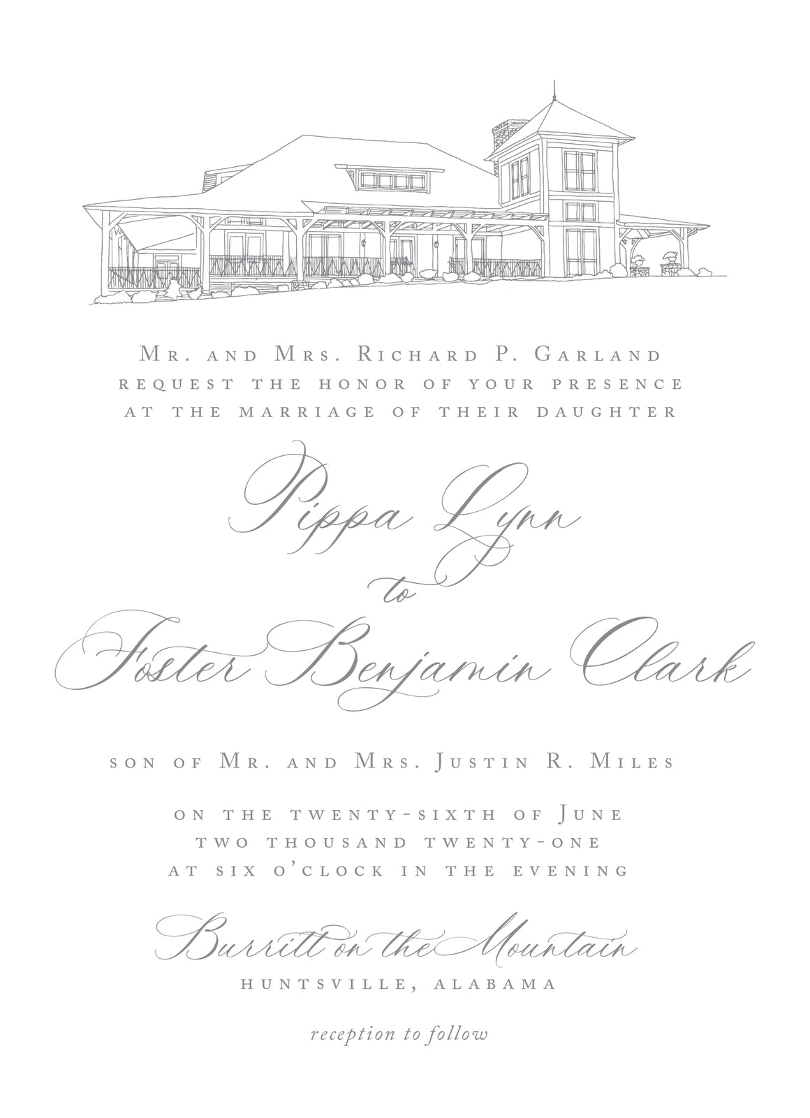 Pippa Invitation
