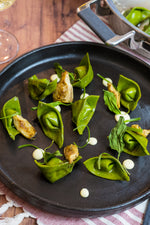 Spinach and Artichoke Cappelletti