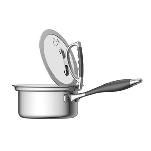 Cookcraft By Candace 1 5 Qt Sauce Pan With Glass Latch Lid Cookcraftco Com