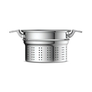 Load image into Gallery viewer, 8 Qt. Tri-Ply Stock Pot Strainer Set