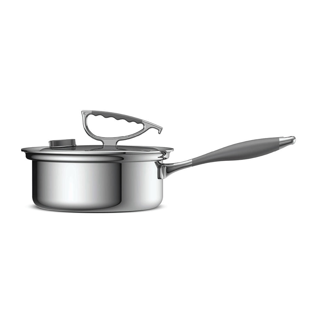 3 Qt Tri Ply Sauce Pan With Lid Cookcraftco Com