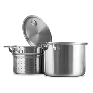 8 Qt. Tri-Ply Stock Pot Strainer Set