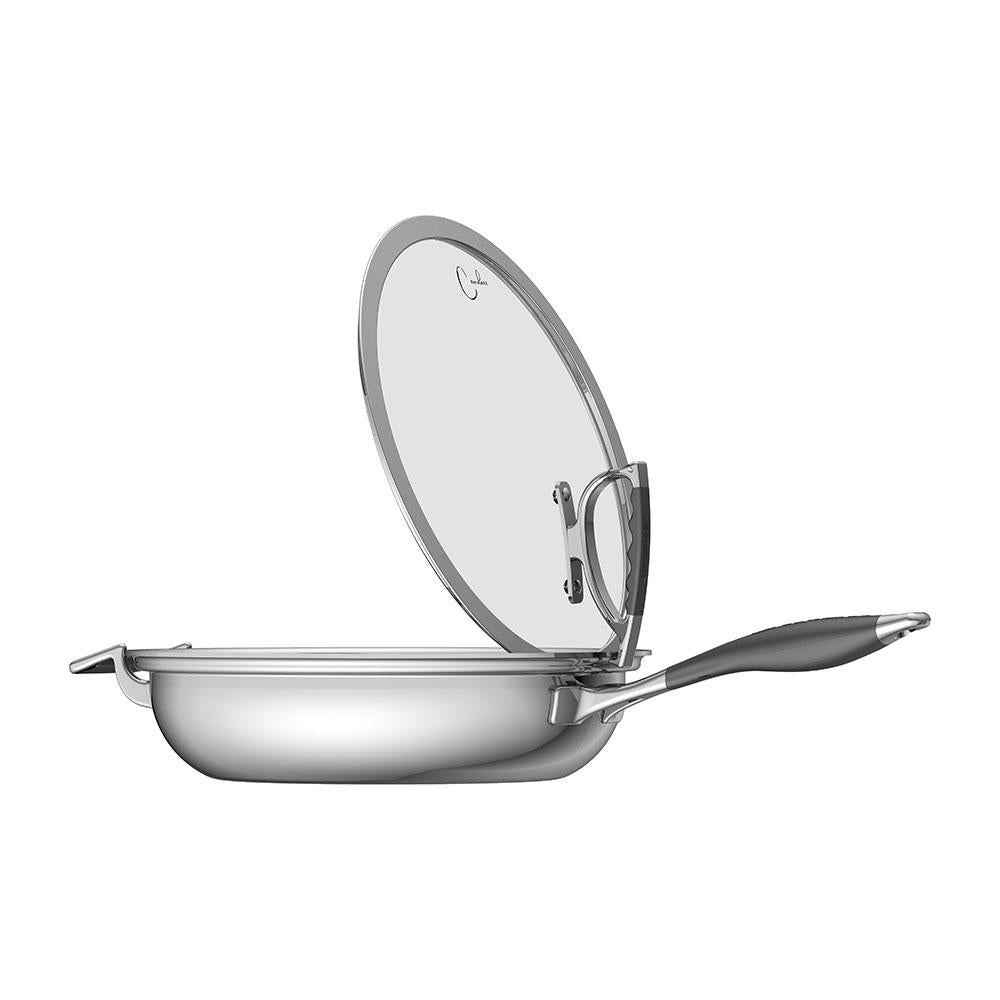Load image into Gallery viewer, CookCraft by Candace 4pc Tri-Ply Stainless Steel Cookware Set