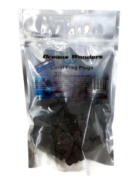Oceans Wonders Hawaiian Black Coral Frag Plugs 30 pack