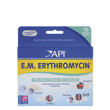 API E.M. Erythromycin Powder - 10 packets