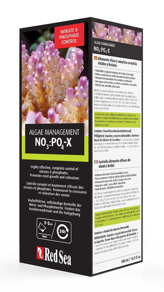 Red Sea NO3:PO4-X Algae Management Supplement