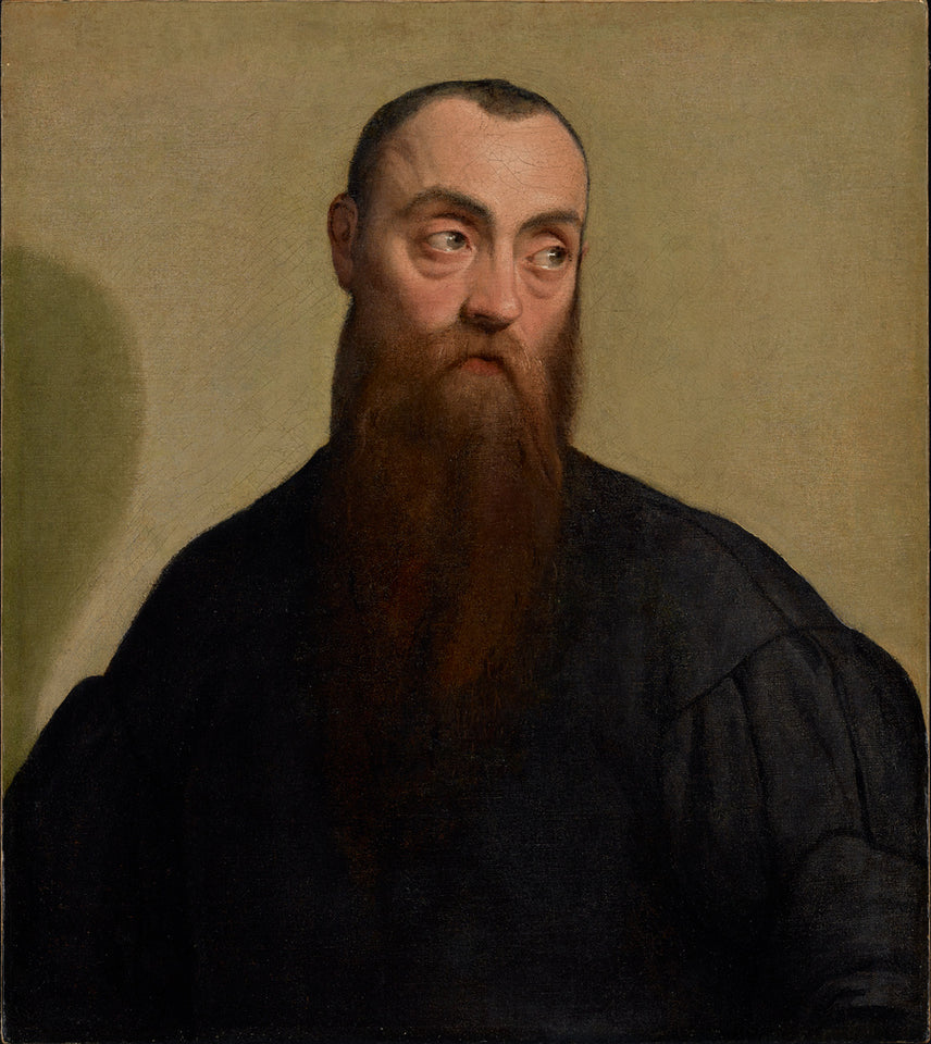 "Jacopo Bassano:Portrait of a Bearded Man,16x12""(A3)Poster"