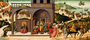 "Biagio d'Antonio  1446 - after 1508):The Story of Joseph,16x12""(A3)Poster"