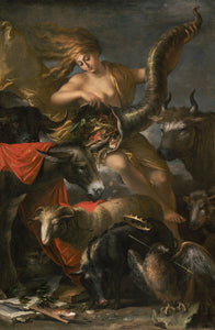 "Salvator Rosa:Allegory of Fortune,16x12""(A3)Poster"